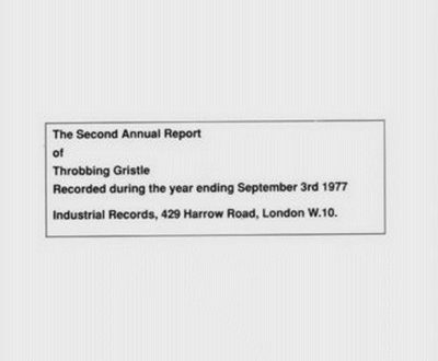 Throbbing Gristle – The second annual report